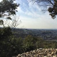 大吉山裏道から朝日山