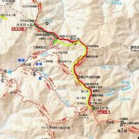 五番関から大天井岳と大峰山(山上ヶ岳)へそれぞれ往復 2016年10月14日その1