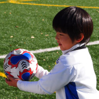 初めてのサッカー大会 準優勝しました。
