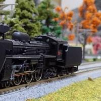 「SLやまぐち」号牽引用の機関車 C56-160とC57-1を見る