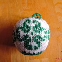 16年 アルネ&カルロスのクリスマスボール 7 唐草風のバラ