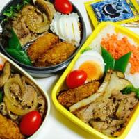 コロッケと生姜焼き