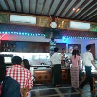 ヤンゴンのカフェー