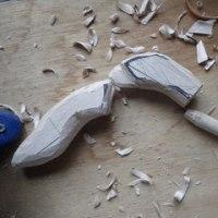 タチコマの左手制作開始