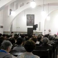 <ソプラノ藤原のり子さん> 大阪・天満教会で「いざよいコンサート」