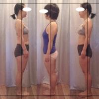 体だけでなく、心にもお仕事にも変化が!!!左右の感覚の違いが気になってる方のBefore-Afterの写真