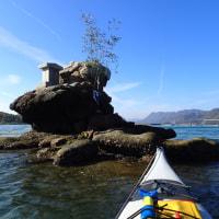 瀬戸内シーカヤック日記: しまなみ海道カヤック&バイク、キャンプツーリング_哀愁の生名島訪問