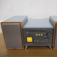 「ケンウッド Avino BR-2001 CD/MDコンポ スピーカー」買取させていただきました。