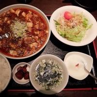 中華食堂 麻婆豆腐定食(四川風)@上田市