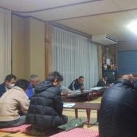 平成29年1月中野町内会定例会へ。