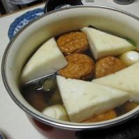 寒い日は、おでん や キムチ鍋が温ったまる