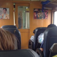 列車の中で
