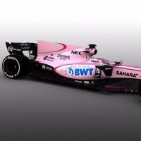 ピンクのF1マシン誕生。フォース・インディアがカラーリングを一新
