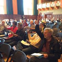 高江ヘリパッド中止求め決議 米国初、最大規模の退役軍人の会