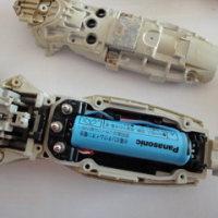 Panasonic シェーバー ラムダッシュ ES8237の充電池の交換