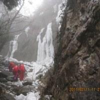 宝満山(難所が滝)