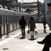 ▼田奈駅の昼下がり
