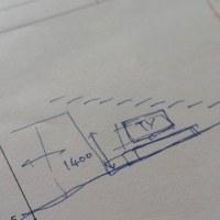 建築のバランス・・・・寸法(サイズ)としての比率「美」と「善」に置き換えて検討の途中・・・・・。