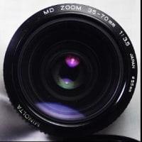 【第580沼】MINOLTA newMD ZOOM 35-70mm F3.5良い感じのMFズームレンズ