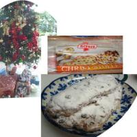 クリスマスのお菓子 シュトレン買ってきました。
