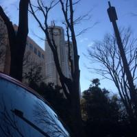 新宿区にて「都庁」