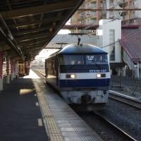 EF210-157号機@吹上駅