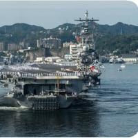 ◯【異例の空母2隻朝鮮半島展開】・・・・・日本海に空母ロナルド・レーガン派遣へ 異例の空母2隻展開!