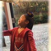 5歳女児☆チアダンデビュー