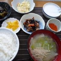 今朝の食事