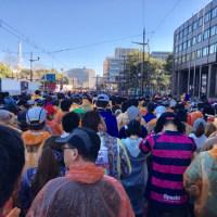 熊本城マラソン2017 スタート前