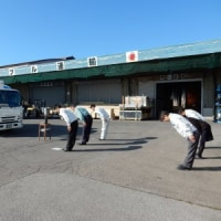 山梨営業所にて新車貸与式が行われました。