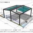 夏場の遮熱対策(紫外線対策テント)