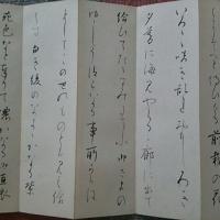 源氏物語 須磨帖5 筆者不明折帖コレクション