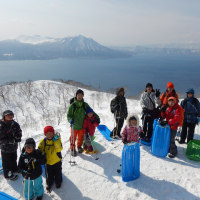 支笏湖・紋別岳キャンプ