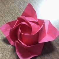 ★楽しい折り紙★ ランドセル & バラ