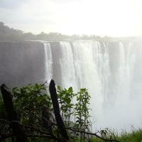 「東南アフリカ」編 ジンバブエ側から見たヴィクトリアの滝 9 MAIN FALLS 3