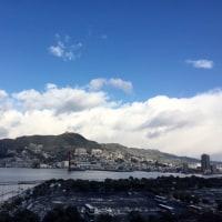 雪の晴れ間(^o^)