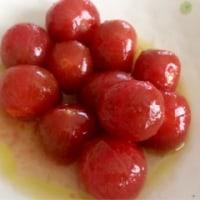 トマトの甘酸っぱマリネ