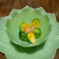 芽キャベツを和食にする新鮮さ