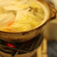 炭火で湯豆腐