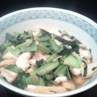 チヂミ小松菜料理を