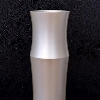 真鍮製 竹の形ちの花器 フラワーベース