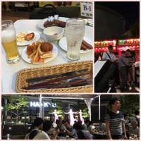 9月9日阪急梅田のビアガーデン
