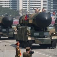 固体燃料を使うミサイル