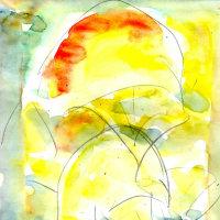 朝日記170223 新しい音楽絵画no 366early spring 2017と今日の絵