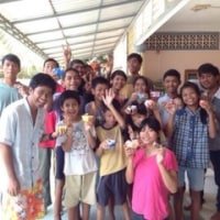 1月にカンボジアチームが遣わされます