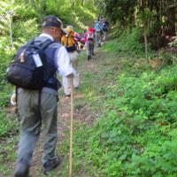 12 灰ヶ峰(737m:呉市)登山  昔からの登山路へ