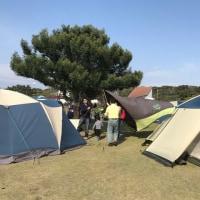 初めてのキャンプ体験4月。~天気もなんとか~