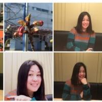 2015-02-19マリンピア桜と武漢の人。もう2年も経ちました。また是非千葉に来てください。