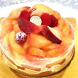 パティスリーリョーコの桃のタルト